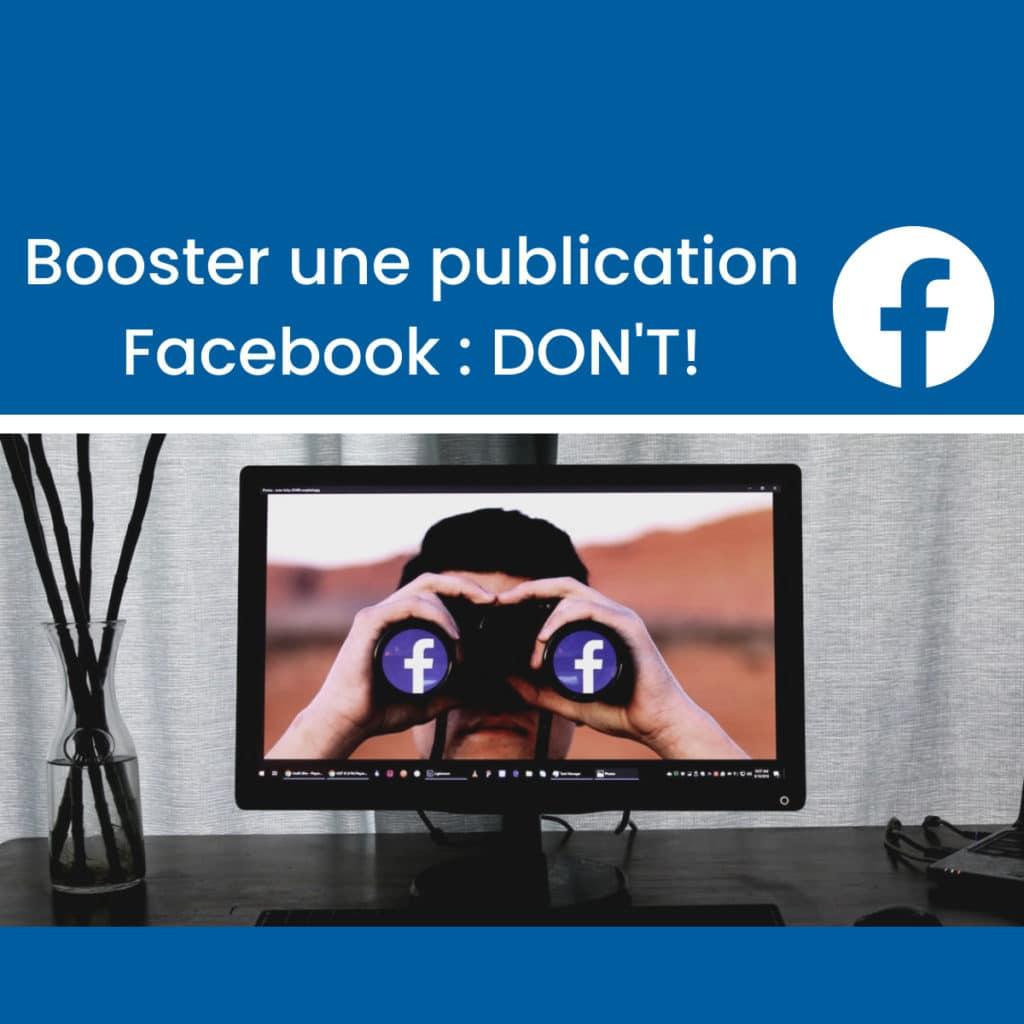 Booster une publication