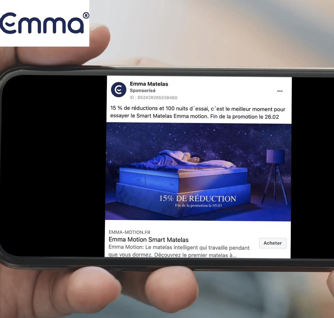 Publicité Emma