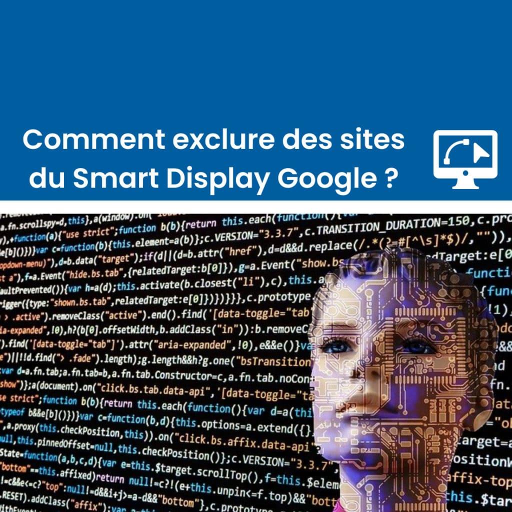 Exclure des emplacements Smart display Google