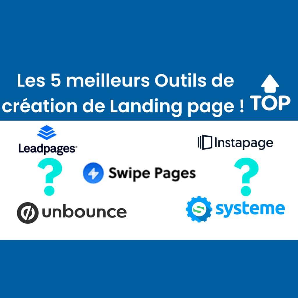 Les 5 meilleurs outils de création de landing page