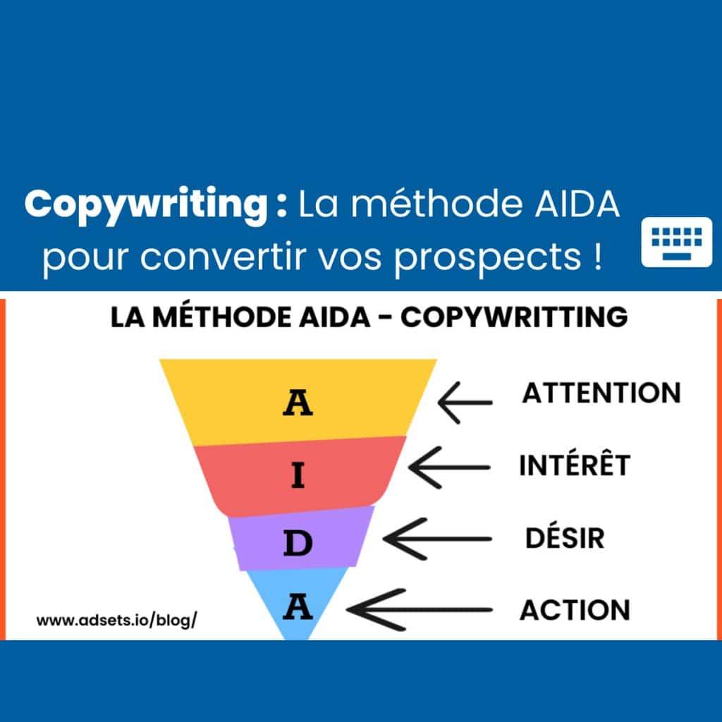 La méthode AIDA copywriting